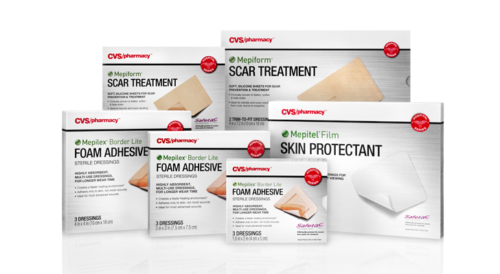Cvs Adds Line Of Store Brand Hospital Strength Wound Dressings