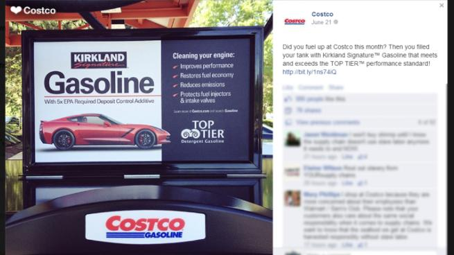 Top Tier Detergent Gasoline >> Costco's own gasoline gets company listed as a Top Tier ...